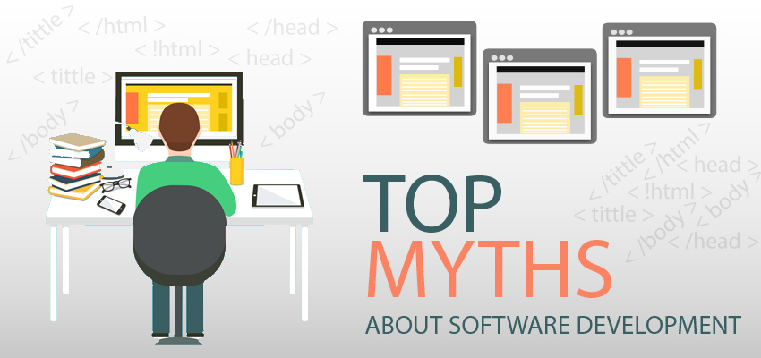 common myths about software development