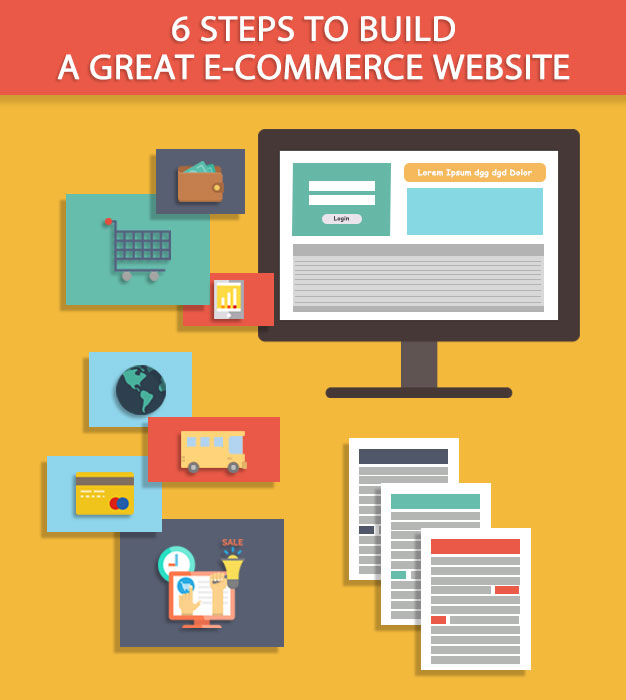 6 steps to build a great e-commerce website