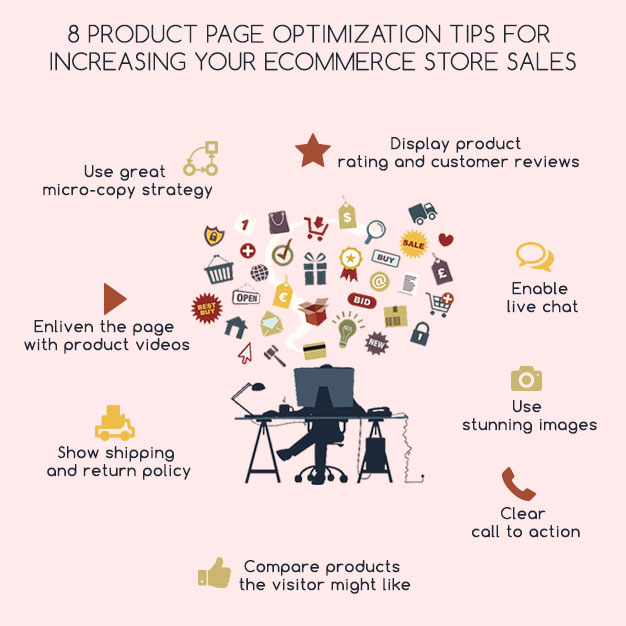 8 product page optimization tips for increasing your ecommerce store sales