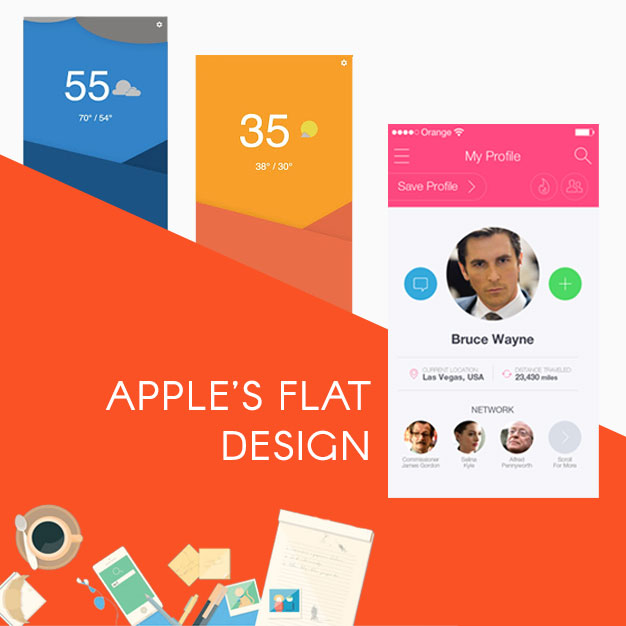 Apple's Flat Design