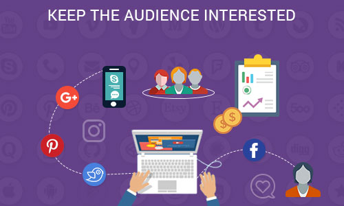 Keep the audience interested - Ways to promote your mobile app through social platforms