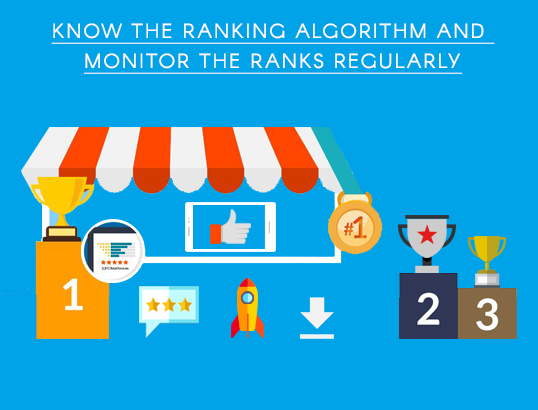 Know the ranking algorithm and monitor the ranks regularly