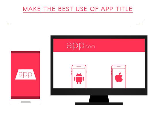 Make the best use of app title