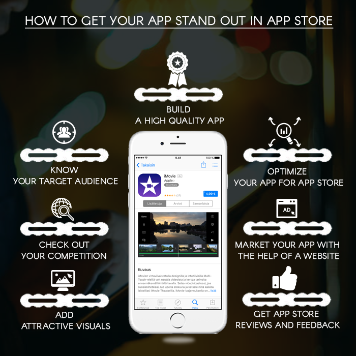Get your app stand out in app store
