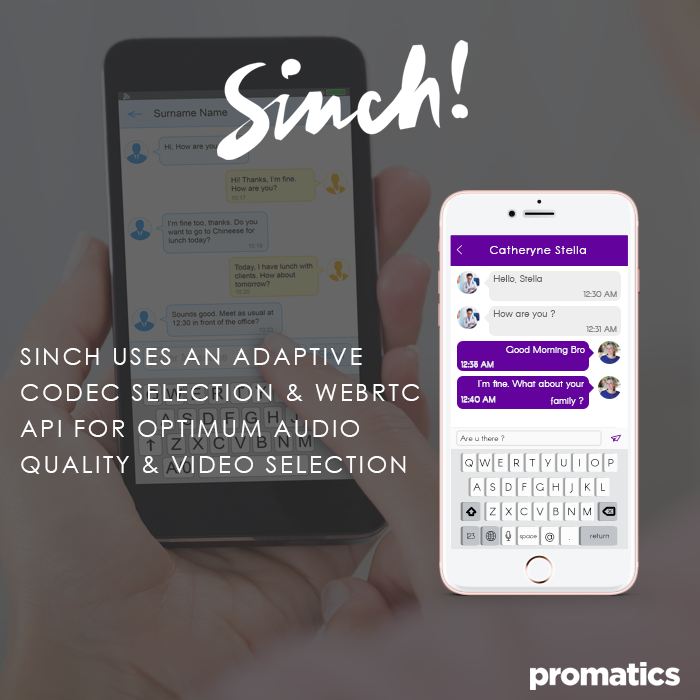 Is Sinch a good video chat API