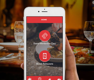 Restaurant Discount Card iPhone n Android Apps