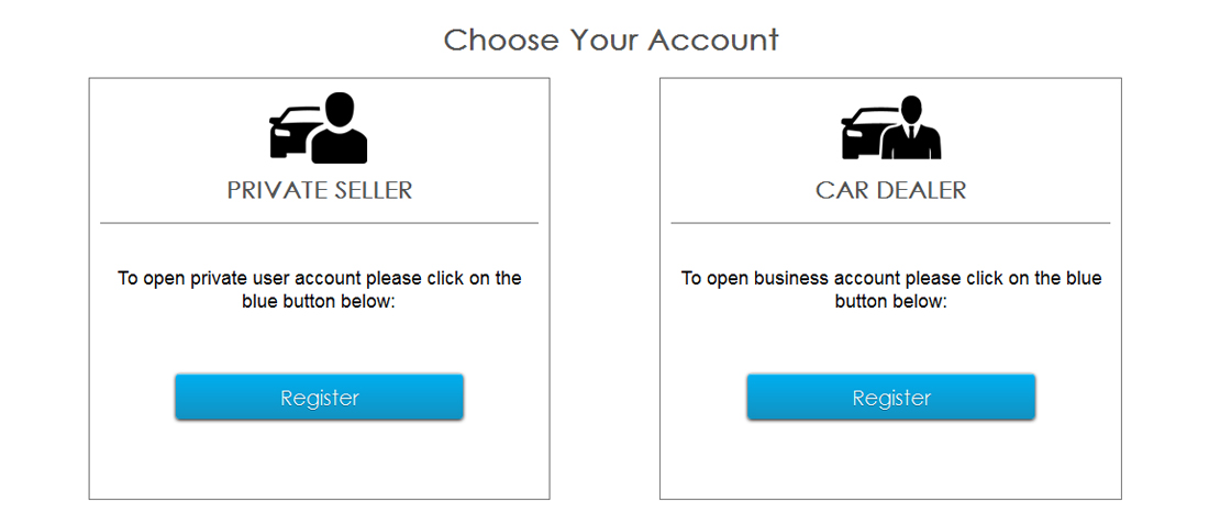 Multiple User Account Types - Business, Personal