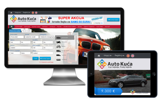 Auto Portal, Classifieds Listing, Used Automobiles Website, View Case Study
