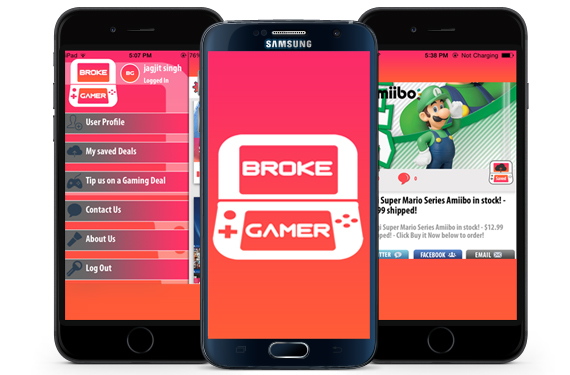 Video Game Deals Mobile Apps