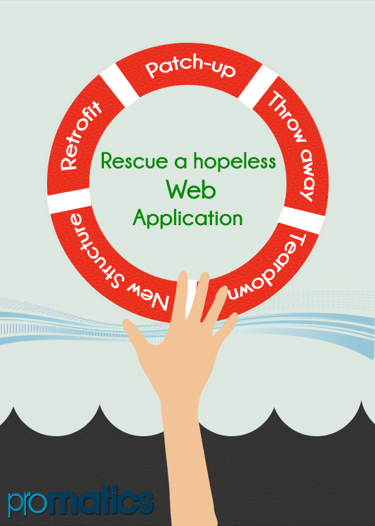 How to rescue a hopeless web application project