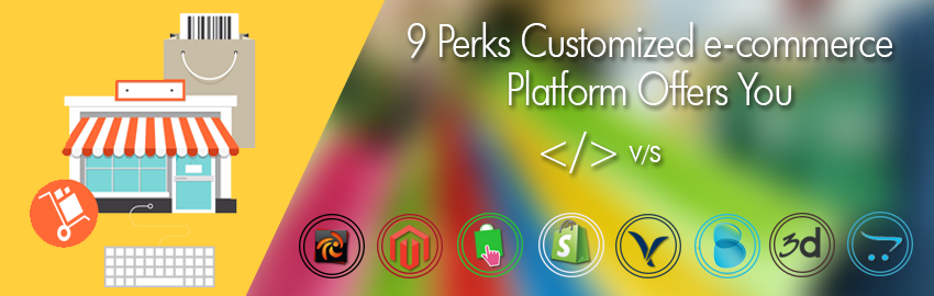 9 Perks Customized e-commerce Platform Offers You