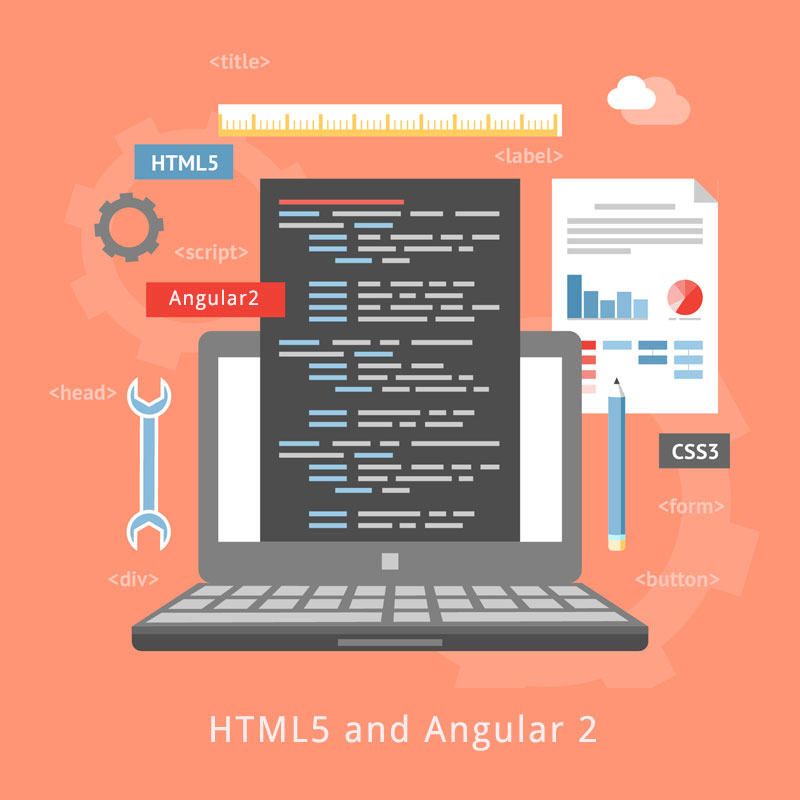 HTML5 and Angular 2: Two powerful tools that can deliver almost anything