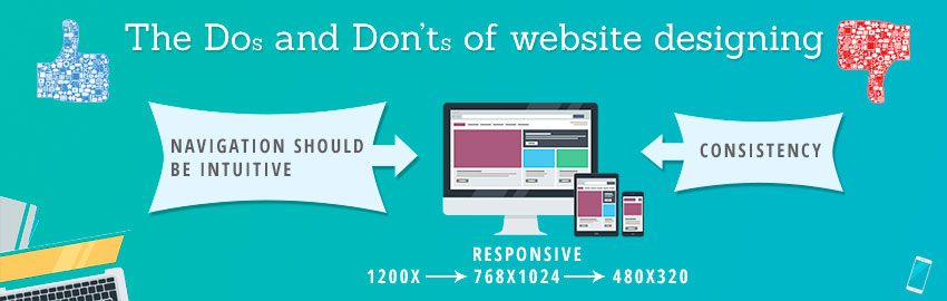 The Do's and Don'ts of website designing