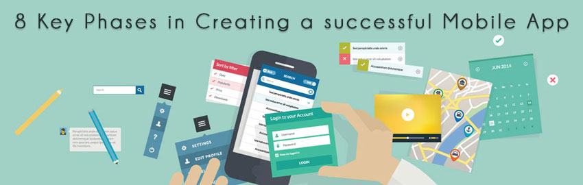 8 Key Phases in Creating a successful Mobile App