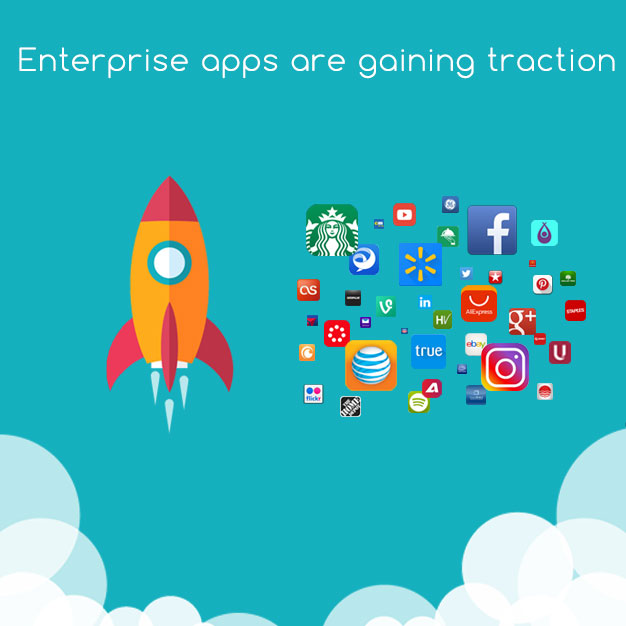 Enterprise are gaining traction