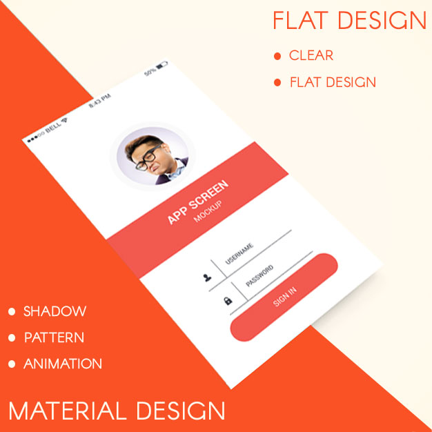 Google's Material Design vs Apple's Flat Design Which is better