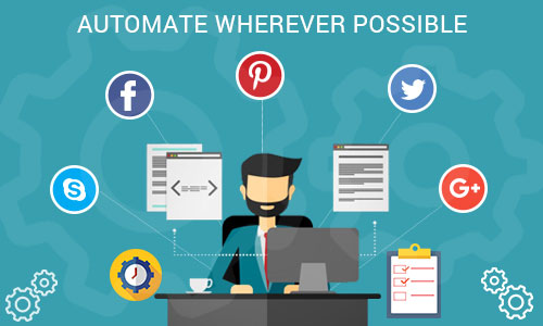 Automate wherever possible - Ways to promote your mobile app through social platforms