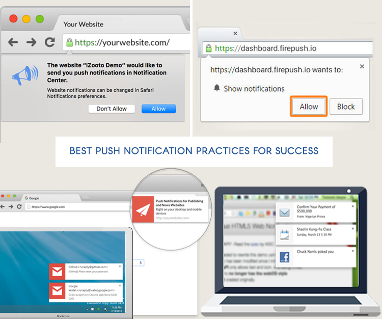 Best push notification practices for success