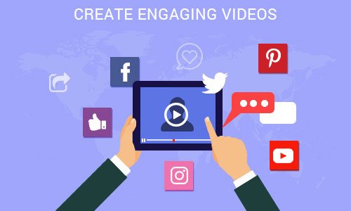 Create engaging videos - Ways to promote your mobile app through social platforms