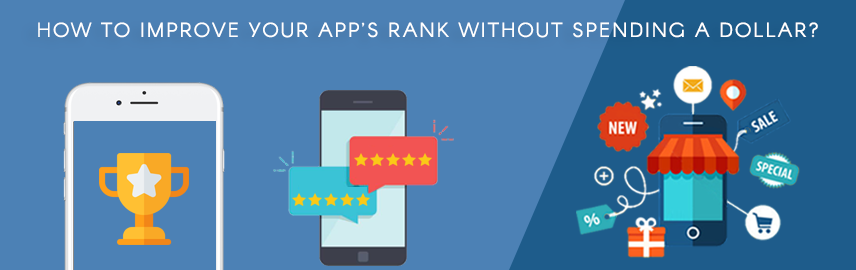 How to improve your App's rank without spending a Dollar