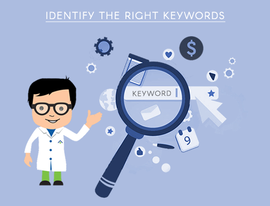 Identify the right keywords