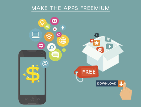 Make the apps freemium
