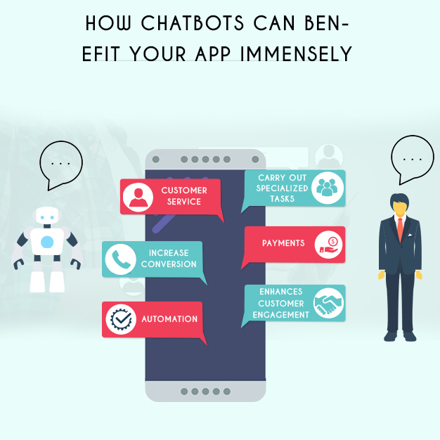 How chatbots can benefit your app immensely