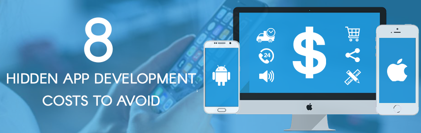 8 hidden app development costs to avoid - Promatics Technologies