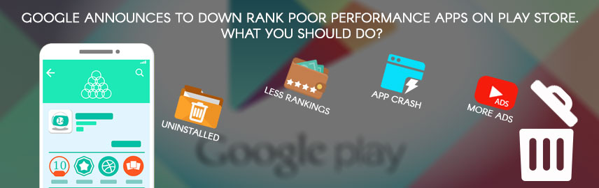 Google announces to downrank poor performance apps on Play store. What you should do - Promatics Technologies