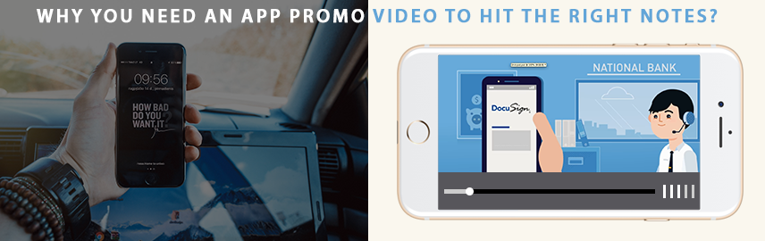 Why you need an app promo video to hit the right notes - Promatics Technologies