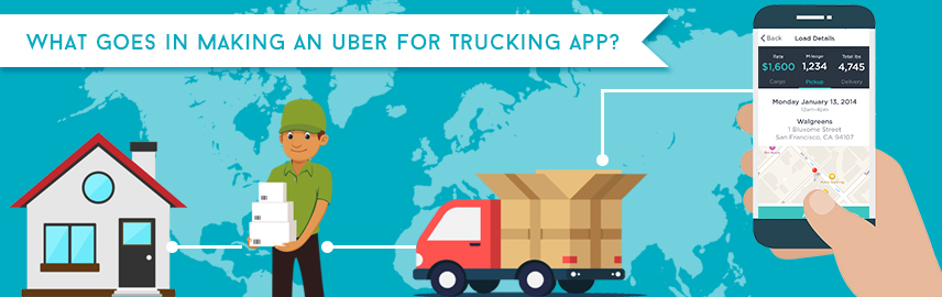 What goes in making an Uber for trucking app - Promatics Technologies