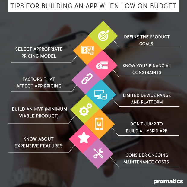 Tips for building an app when low on budget