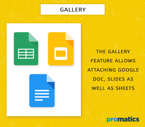 Gallery Elements for Material Design