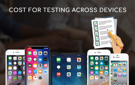 Costs for Testing across Devices
