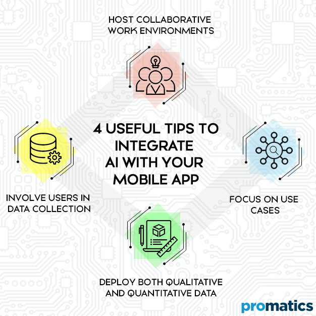 4 Useful Tips to integrate AI with your mobile app