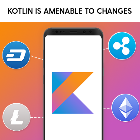 Kotlin is amenable to changes