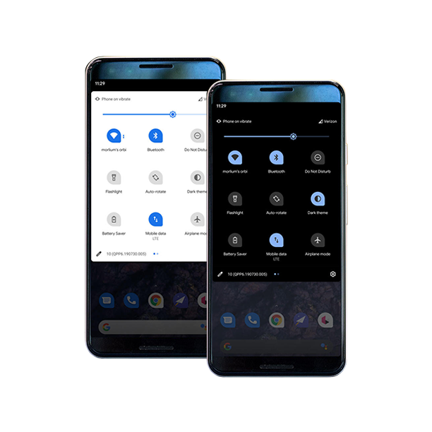 All new Dark Mode in Android 10