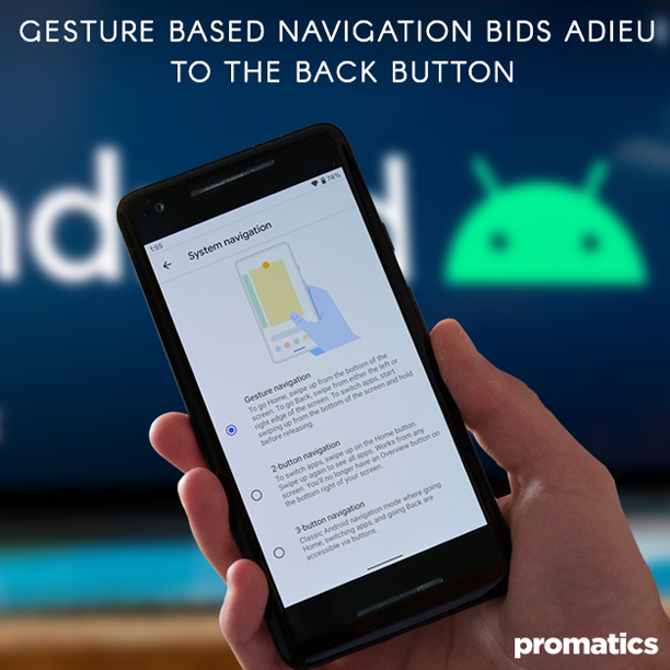 Gesture Based Navigation Bids Adieu to the Back Button in Android 10