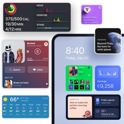 Make-a-collage-of-app-widgets-of-different-apps