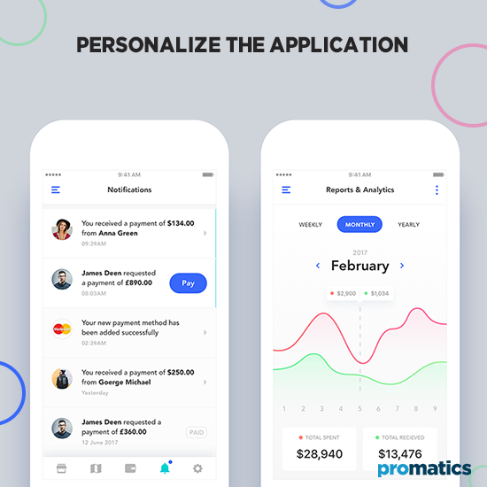 Personalize the Application
