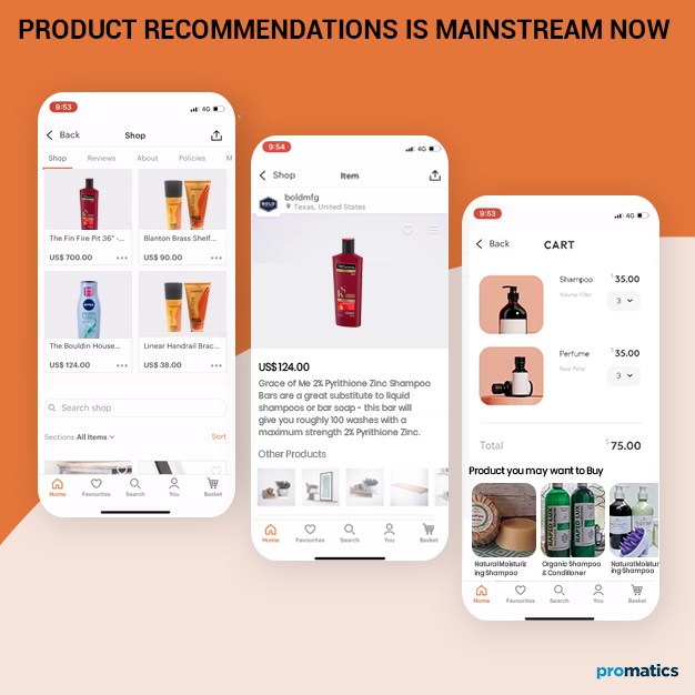 Product Recommendations is Mainstream Now