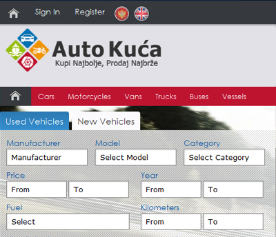 Auto Portal, Classifieds Listing, Used Automobiles Website