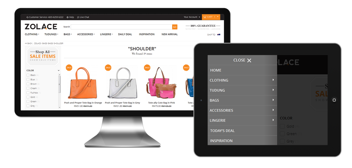 Custom Magento Products Catalog