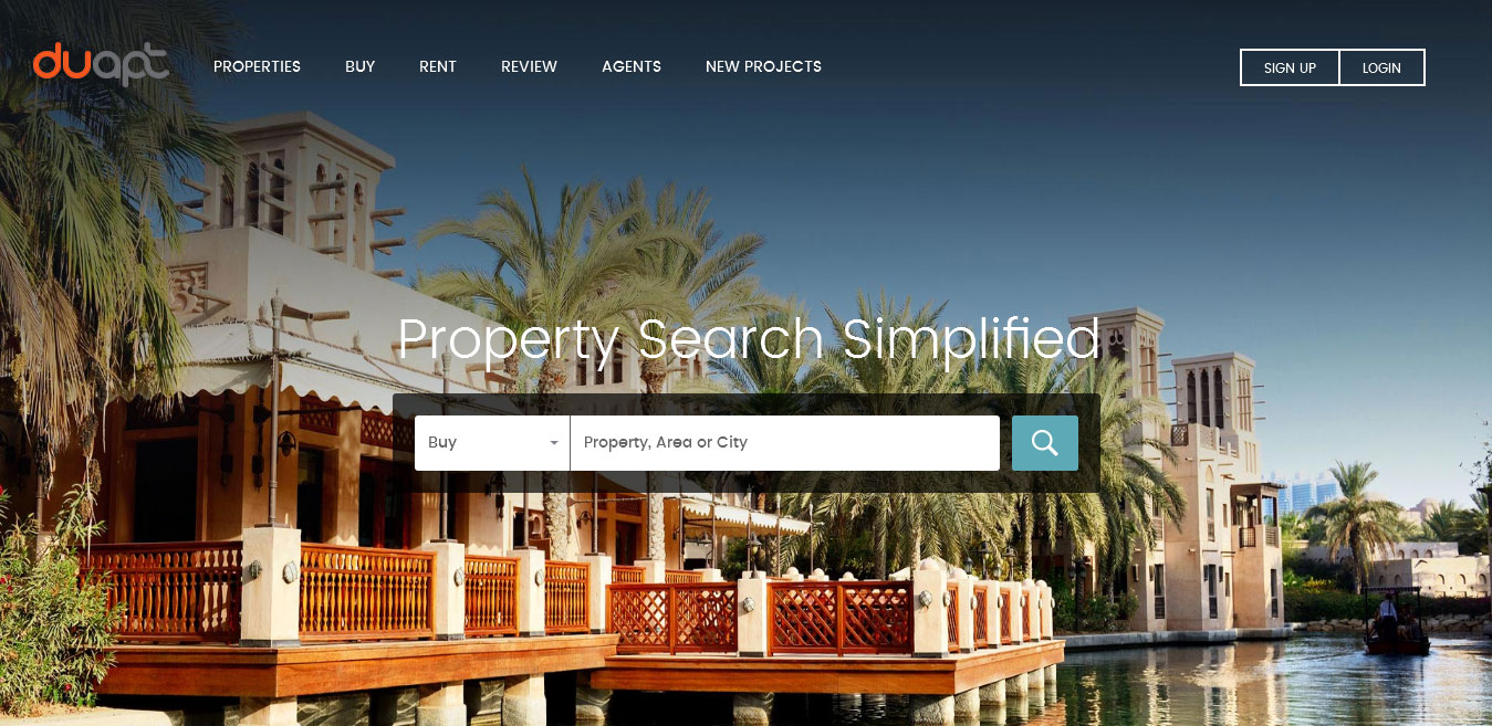 Real Estate Property Search Tool - Real Estate Website Development