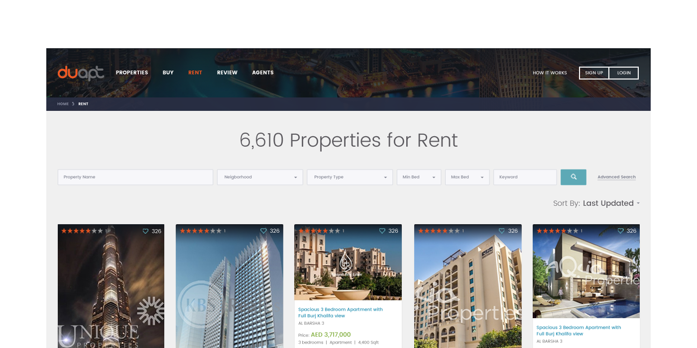 Search Results - Real Estate Website Development