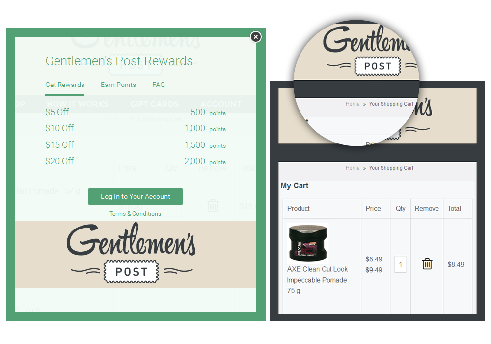 Rewards Points Module