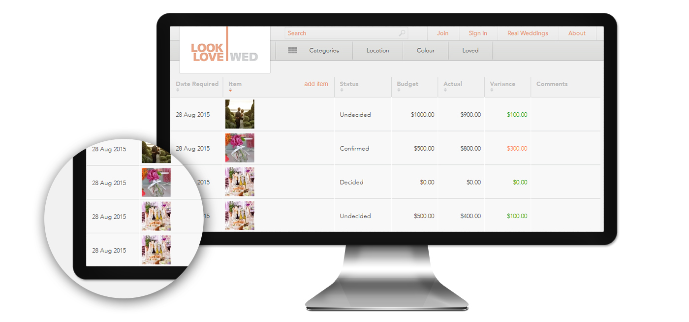 Wedding Planner Website Development