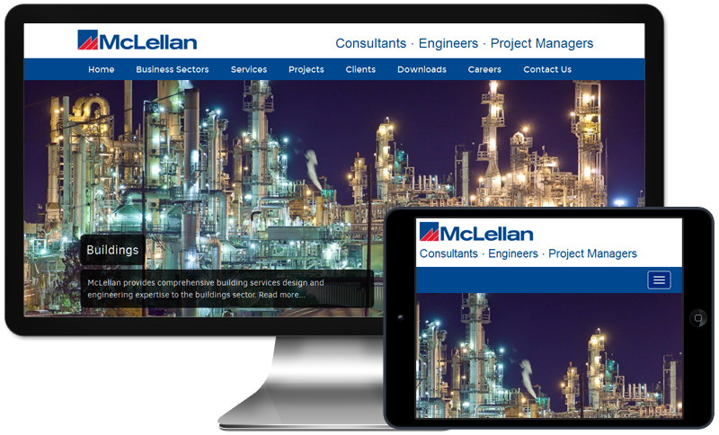 Custom Corporate Site Development