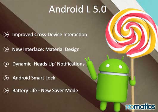 7 Cool Features of The New Android Lollipop